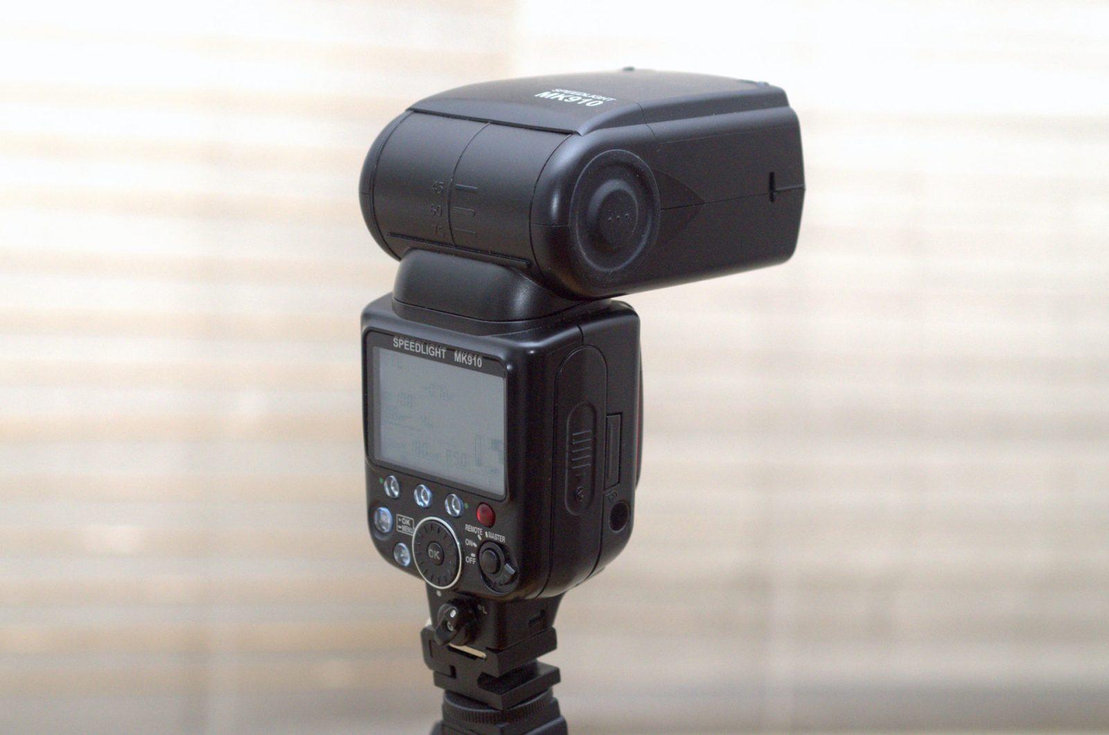 Meike MK910 i-TTL Blitz für NIKON Digitalkameras